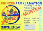 Ticket-Prinzenproklamation 24.11.2018